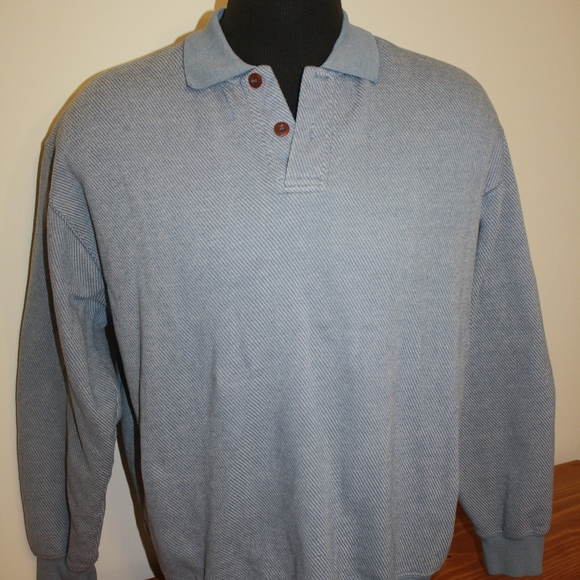 cec1f73d5c4 Orvis Shirts   Long Sleeve Leather Patch Polo Mens Large   Poshmark